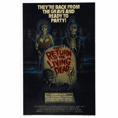 Return Of The Living Dead The Movie Poster 11x17 Mini Poster