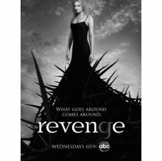 "Revenge Black and White Poster 24""x36"""