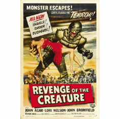 Revenge Of The Creature Poster 24inx36in
