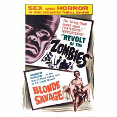 Revolt Of The Zombies Poster Blonde Savage 24inx36in