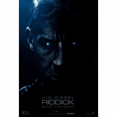 riddick Mini Poster 11inx17in poster