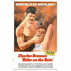 Rider On The Rain Charles Bronson Movie Poster 11x17 Mini Poster