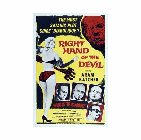 Right Hand Of The Devil Movie Poster 11x17 Mini Poster