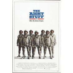 Right Stuff The Movie Poster 24in x36 in