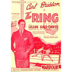 Ring the Movie Poster 24x36 boxing carl brisson