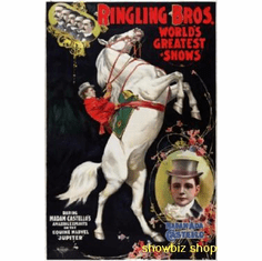 Ringling Brothers Circus Poster 24inx36in