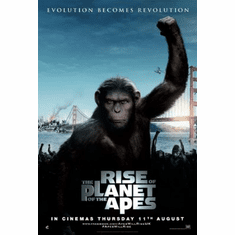 Rise Of The Planet Of The Apes Movie Mini Poster 11x17 #01