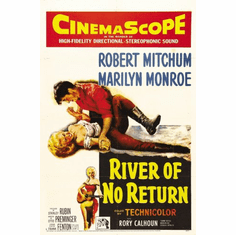 River Of No Return Movie Poster 24x36