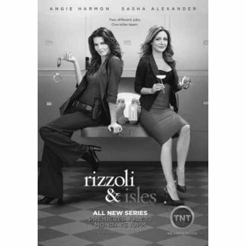 "Rizzoli and Isles Black and White Poster 24""x36"""