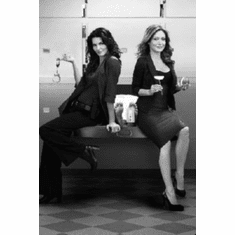 "Rizzoli Isles Black and White Poster 24""x36"""