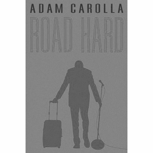 "Road Hard Black and White Poster 24""x36"""