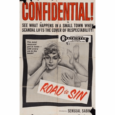 Road To Sin Movie Poster 11x17 Mini Poster