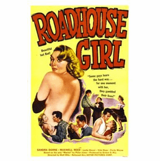 Roadhouse Girl Movie Poster 11x17 Mini Poster