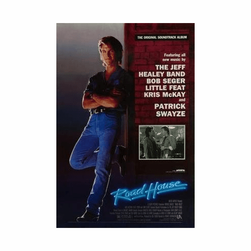Roadhouse Patrick Swayze Movie Poster 11x17 Mini Poster