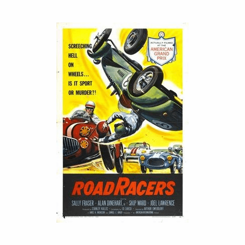 Roadracers Movie Poster 11x17 Mini Poster