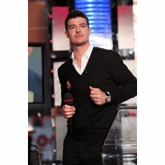 Robin Thicke Black Jacket Poster 11x17 Mini Poster