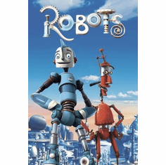 Robots Movie mini poster 11x17 #01