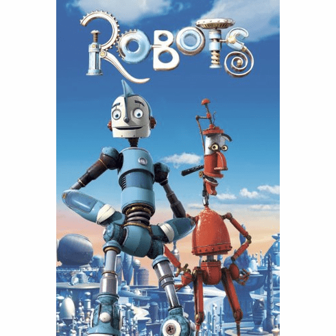 Robots Movie Poster 24x36