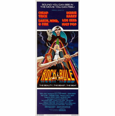 Rock And Rule 14inx36in Insert Movie Poster