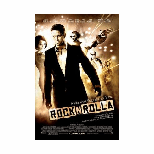 Rock N Rolla Movie Poster 24in x36 in