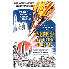 Rocket Attack Usa Movie Poster 11x17 Mini Poster