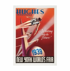 Rocketeer Ny Worlds Fair Movie Mini poster 11inx17in