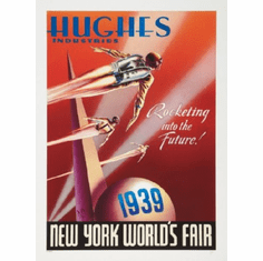Rocketeer Ny Worlds Fair Movie Poster 24inx36in
