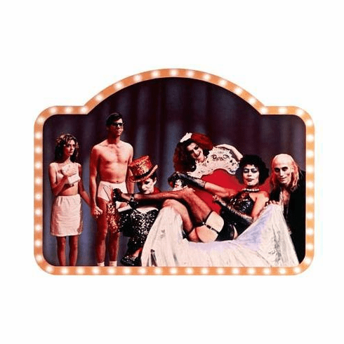 Rocky Horror Picture Show Movie Poster Cast 11x17 Mini Poster
