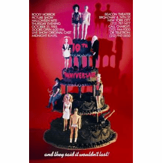 Rocky Horror Picture Show Movie Poster Wedding Cake 11x17 Mini Poster