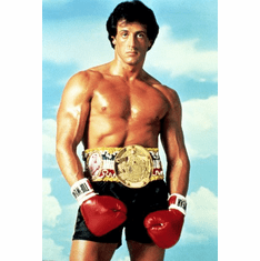 Rocky Movie Poster Sylvester Stallone 24inx36in