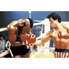 Rocky Mr. T Movie Poster Sylvester Stallone 24inx36in