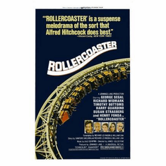 Rollercoaster Movie Poster 11x17 Mini Poster