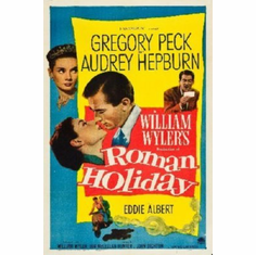 Roman Holiday Poster 24inx36in