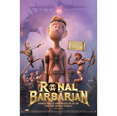 Ronal Barbarian Movie Poster 24x36