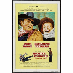 Rooster Cogburn Movie mini poster 11x17 #01
