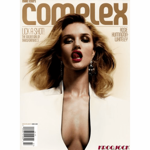 Rosie Huntington Whiteley Poster 24x36 Complex Magazine Cover