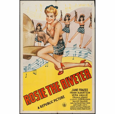 Rosie The Riveter Movie Poster 24x36