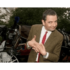 Rowan Atkinson Mini #01 8x10 photo Master Print