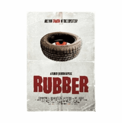 Rubber Mini Movie Poster 11x17