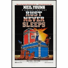 Rust Never Sleeps Mini Poster #01 11inx17in Mini Poster