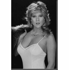 "Samantha Fox Black and White Poster 24""x36"""