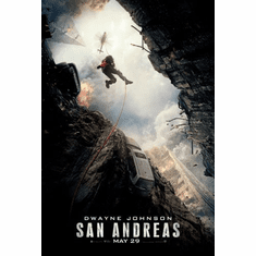 San Andreas Movie Mini poster 11inx17in