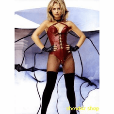Sarah Michelle Gellar Poster Red Leather Vampy Pic 24inx36in