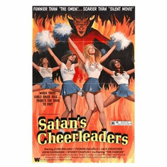 Satans Cheerleaders Movie Poster 11x17 Mini Poster
