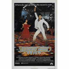 Saturday Night Fever Movie Poster 11x17 Mini Poster