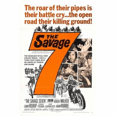 Savage Seven 7 The Movie Poster 11x17 Mini Poster