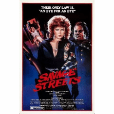 Savage Streets Mini Movie Poster 11x17