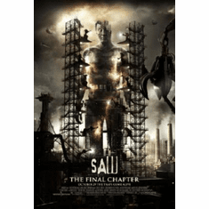 Saw 3D Movie Poster Final Chapter 24inx36in