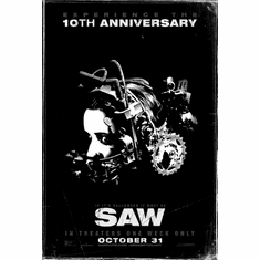 Saw Movie poster 24inx36in Poster