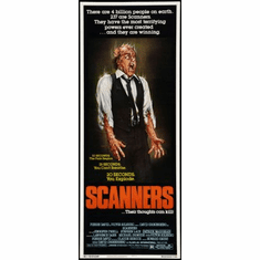 Scanners Movie Poster Insert 14x36 #01